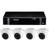 Kit Gravador Digital de Vídeo MHDX INTELBRAS-4580326 + Câmera Infra 1120 D Multi HD VHD - INTELBRAS-4565298