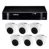 Kit Gravador Digital de Vídeo Multi HD - INTELBRAS-4580327 + Câmera Infra Multi HD- INTELBRAS-4565331