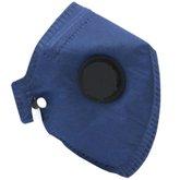 Máscara Descartável PFF2 Carvão com Válvula
