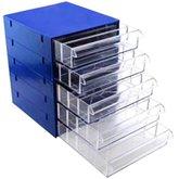 Gaveteiro com 5 Gavetas e 25 Divisórias Azul
