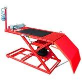 Elevador Pneumático para Motos 500Kg SP500 Vermelho