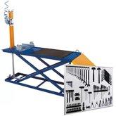 Kit Rampa Pneumática para Motos 300kg SILMAR-103000 + Painel para Ferramentas Galmar 03503510000