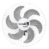 Ventilador Tufão M2 Branco de Parede 50cm Bivolt