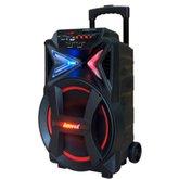 Caixa de Som Amplificada 290W Bivolt 110/220V com Karaokê, Bluetooth e Rádio FM