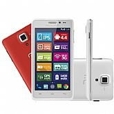 Mini Tablet Multilaser Branco Ms5 Quadcore Dual Chip 8mp Android 4.4 - MULTILASER-NB208