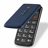 Celular Flip Vita Dual Chip 2,4 Pol. MP3 Azul com Câmera
