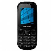 Celular UP 3G Dual Chip com Bluetooth e MP3 Preto