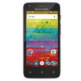 Smartphone MS45S TEEN Preto 3G Tela 4.5 Pol. Câmera 5MP + 3MP Quad Core 8GB Android 6.0 - MULTILASER-P9038