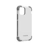 Capa Iphone 11 Promax 6.5 Dualtek Extreme Shock Puregear Branco/cinza