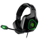 Headset Gamer Revolution 7.1 3D Surround com Microfone