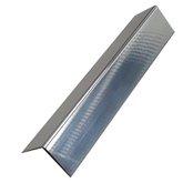 Cantoneira em L 1/2 Alumínio Polido