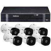 Kit Gravador Digital de Vídeo  INTELBRAS-4580327 Multi HD + 6 Câmeras de Segurança INTELBRAS-4565305 Infravermelho Full HD