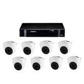 Kit Gravador Digital de Vídeo Multi HD - INTELBRAS-4580327 + Câmera Infra 1120 D Multi HD VHD 3,6mm 20m - INTELBRAS-4565333