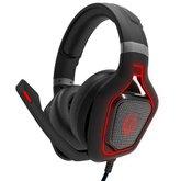 Headset Gamer Power Kill 7.1 Surround com Microfone