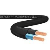 Cabo Silflex PP 500 V 2 x 2,5mm Preto Rolo 100 Metros