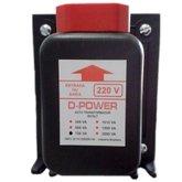 Auto Transformador Bivolt 750VA - D-POWER-AT750