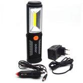 Lanterna Pro LED COB 3W Recarregável SLP-302