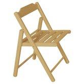 Cadeira Dobrável de Madeira Tauarí com Verniz Cor Natural - Beer - TRAMONTINA-10601080