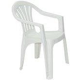 Cadeira com Braços Bertioga Basic Branca