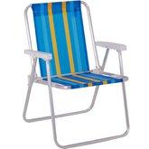 Cadeira de Alumínio Alta com Cores Sortidas - mor-002101