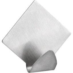 Gancho adesivo losango em inox com 2 peças VONDER