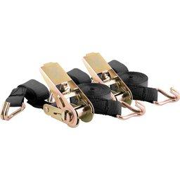 Jogo de cinta com catraca para amarração de carga 0,8 tf/0,4 tf encartelado VONDER