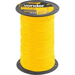 Fio de nylon 2,4 mm x 500 m redondo VONDER