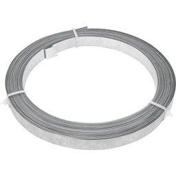 Fita de aço lisa 19 mm x 0,4 mm x 30 m VONDER