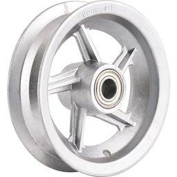 Aro de alumínio 8 Pol., com rolamento, para pneus 3,25 ou 3,50 VONDER