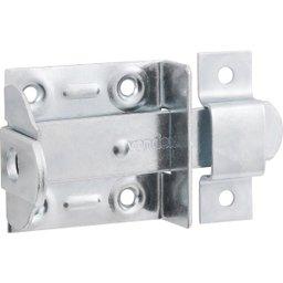Fecho chato com porta-cadeado 3 Pol. zincado encartelado VONDER