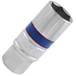 Chave de Vela Sextavado com Encaixe 1/2 Pol - 20,8 mm com Borracha Interna