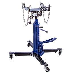 Macaco Hidráulico Telescópico de 2 Estágios para Retirar o Câmbio Azul 500Kg