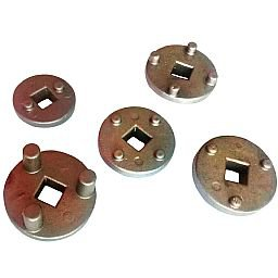 Kit Discos para Freios ABS e Importados com 5 Peças