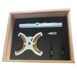 Kit de Ferramentas para Troca da Correia dos Motores Zetec e Sigma