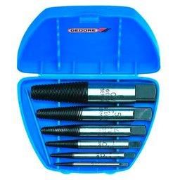 Jogo Extrator de Parafusos de 1 a 5mm com 5 Peças