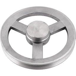 Polia de Alumínio 1 Canal B - 200 mm