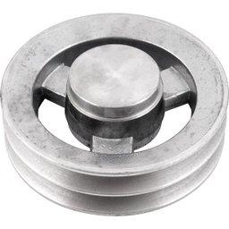 Polia de Alumínio 2 Canais B - 160 mm