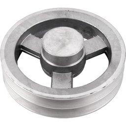 Polia de Alumínio 2 Canais B - 180 mm