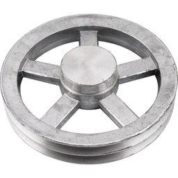Polia de Alumínio 2 Canais B - 250 mm