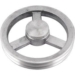Polia de Alumínio 2 Canais a - 230 mm