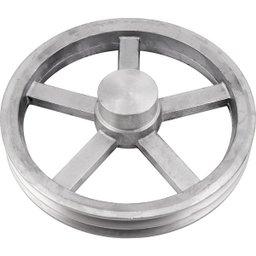 Polia de Alumínio 2 Canais a - 250 mm