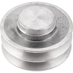 Polia de Alumínio 2 Canais B - 100 mm