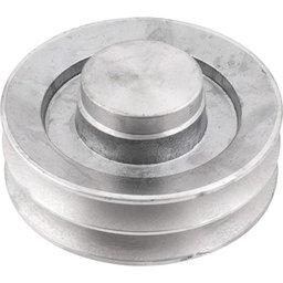 Polia de Alumínio 2 Canais B - 140 mm