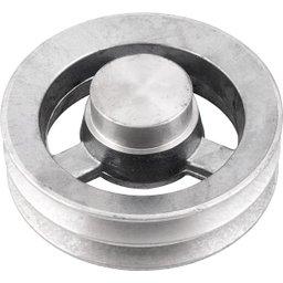 Polia de Alumínio 2 Canais B - 150 mm