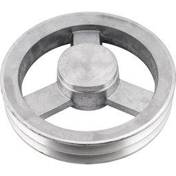 Polia de Alumínio 2 Canais B - 230 mm