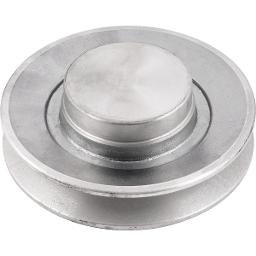 Polia de alumínio 1 canal B - 120 mm