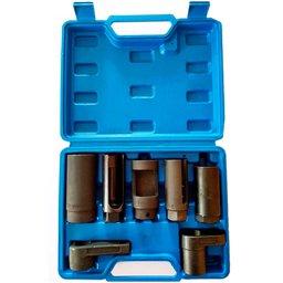 Jogo de Soquetes para Sensor de Oxigênio com 7 Peças