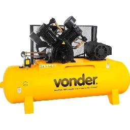 Compressor de Ar Vdcslv 60 Pés 350 Litros Trifásico 220/380 V