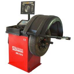 Balanceadora de Rodas Motorizada Vermelha com Monitor LCD