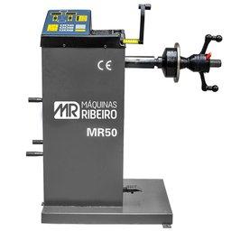 Balanceadora Manual de Rodas Cinza para Aros 10 a 24 Pol. 220V Monofásica